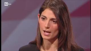 Virginia Raggi - #cartabianca 20/06/2017