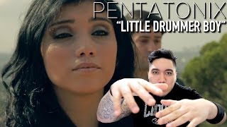 Pentatonix - Little Drummer Boy REACTION!!!