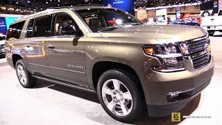 2016 Chevrolet Suburban LTZ - Exterior and Interior Walkaround - 2016 Chicago Auto Show
