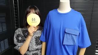 [토키오] 컬러레이션 스트링 반팔 티셔츠를 소개합니다 …