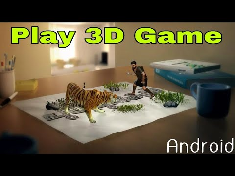 How To Play 3D Games In Android | How To Download 3D Games For Android | Play 3D Looking Game