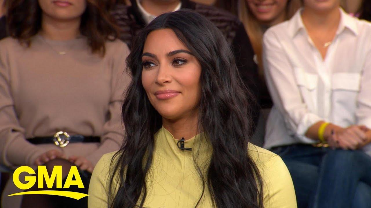 Kim Kardashian West talks new projects, from criminal justice to inclusive shapewear   GMA