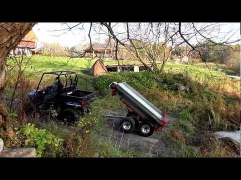 Polaris Ranger EV electric & Atv-Expert Terrain Pro 800 with Hydraulic Tipping