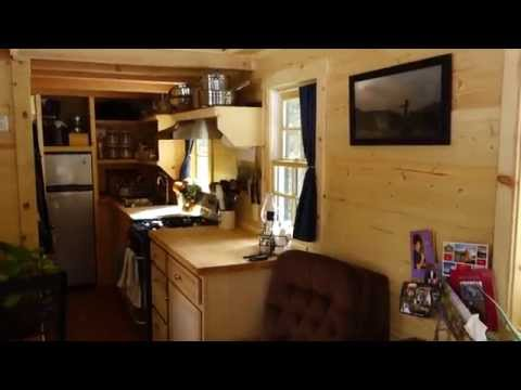 Life in a Tiny House called Fy Nyth  - First Tiny House Tour
