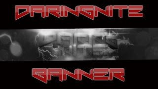 DaringNite YouTube Banner Speedart #4