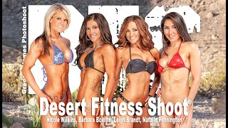 Gregory James BTS  Desert fitness shoot | Flashback 2011MuscleMag Cover