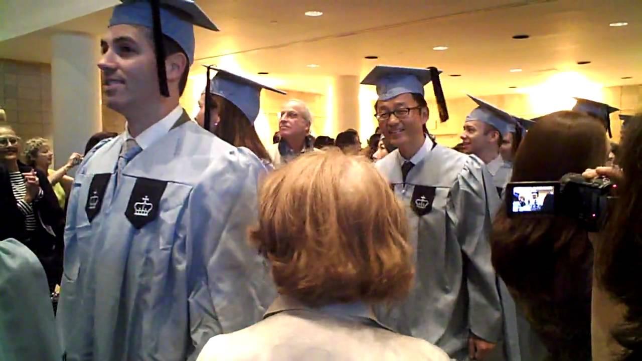 Columbia Executive Mba >> Columbia Emba Graduation Ceremony