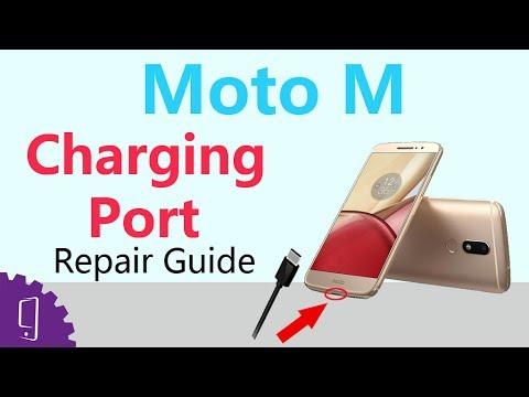 Moto M Charging port Repair Guide