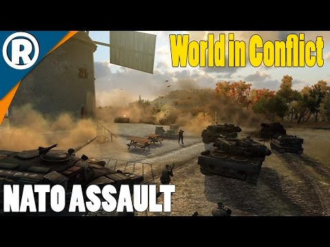 NATO ASSAULT IN FRANCE - World in Conflict: Soviet Assault - Mission 9