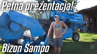 Pełna prezentacja kombajnu BIZON SAMPO 2020