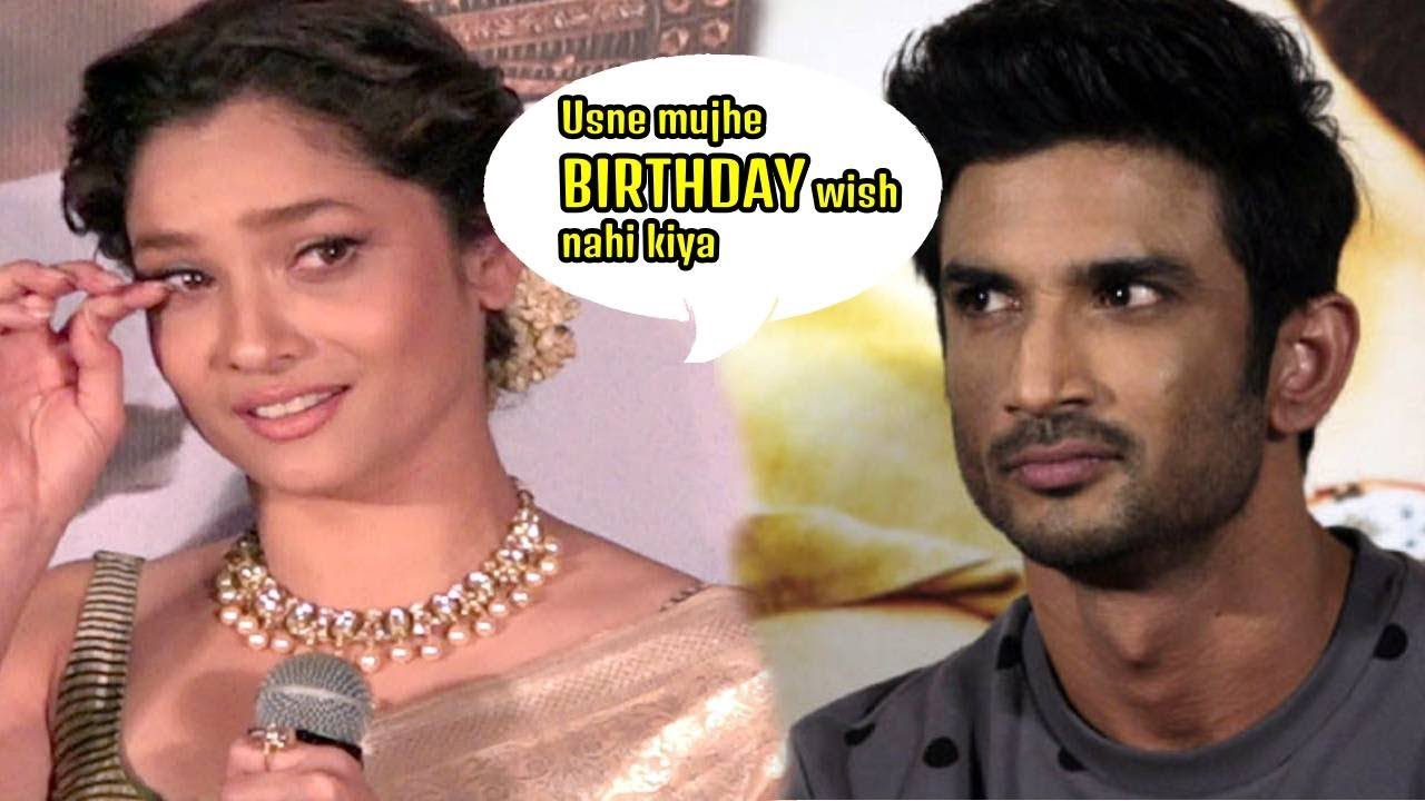 Ankita Lokhande REACTION On EX.. SAD :BIRTHDAY Party