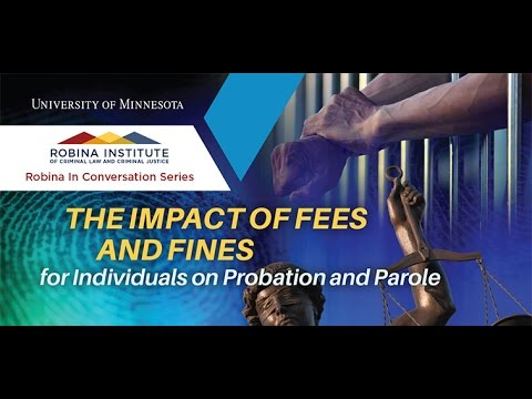 The Impact of Fees and Fines for Individuals on Probation and Parole