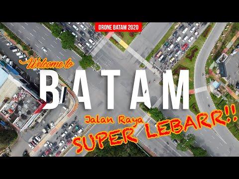 Jalan-jalan Super Lebar Batam Update 2020 (10 LAJUR!!) | Drone Batam