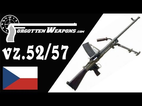 Last Gasp of the ZB26: Czech vz 52/57 LMG – Forgotten Weapons