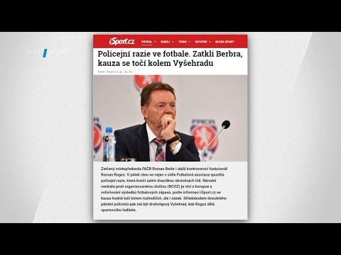 TIKI-TAKA: Zatčení Romana Berbra. Pročistí se teď český fotbal?