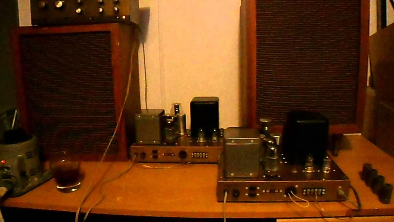 Heathkit W5m Mono Tube Amplifiers
