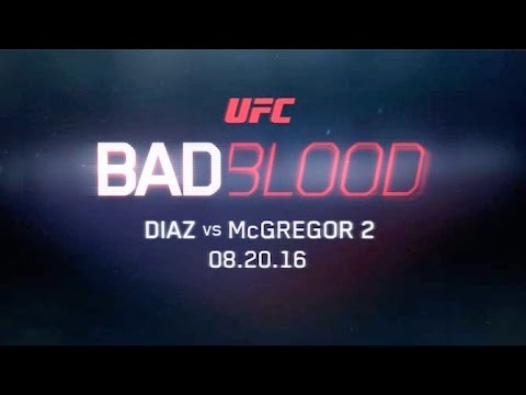 UFC 202: Bad Blood: Diaz x McGregor 2