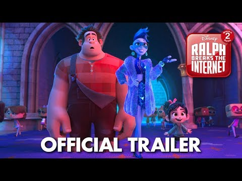Ralph Breaks the Internet: Wreck-It Ralph 2 Official Trailer - Видео с YouTube на компьютер, мобильный, android, ios