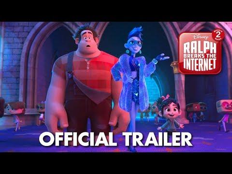 Ralph Breaks the Internet trailers