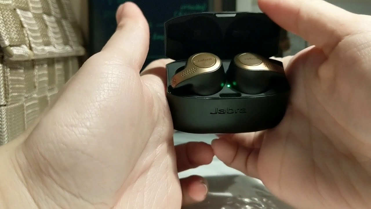 How To Easily Open The Charging Case Of The Jabra Elite 65t Youtube