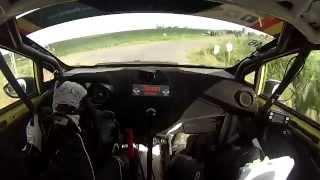 Alex Parpottas/Alex Kihurani - Ypres Rally 2014 SS2 Wijtschate 1