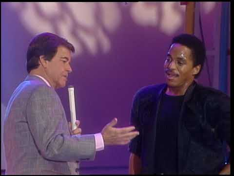 American Bandstand 1987- Interview Marlon Jackson