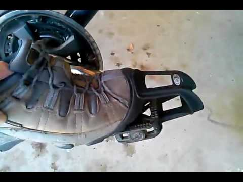 Delta Bicycle Strapless Toe Clips Review Youtube