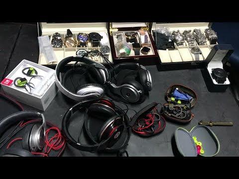 Best surprise mystery unbox video #30 , $7400 Storage auction unboxing  Apple, watches, dre beats