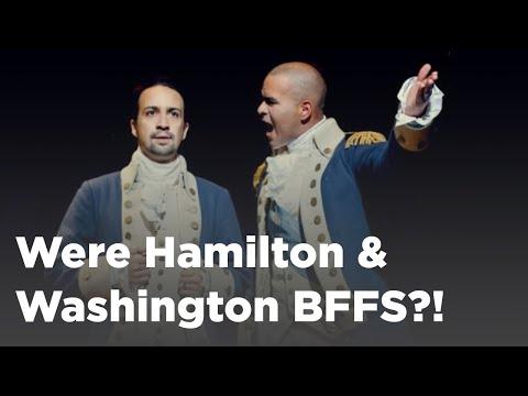 Q&A: Were Alexander Hamilton & George Washington BFFs?