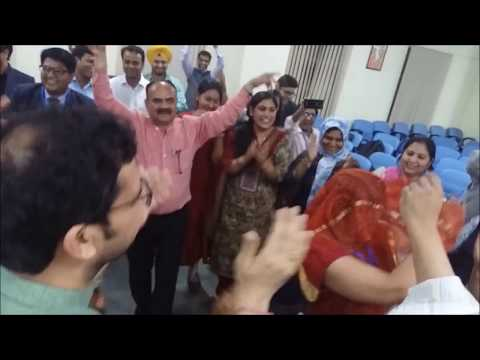 Dancing by Participants during FDP, Faculty of Law Delhi University