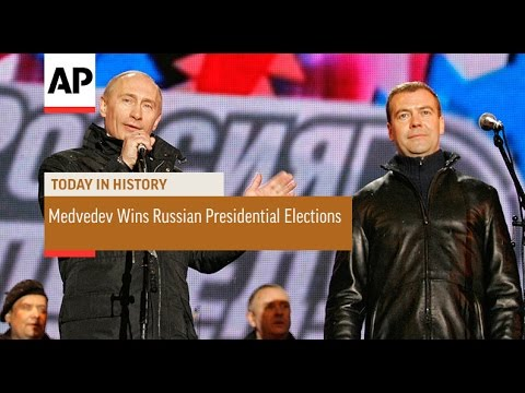 Dmitry Medvedev Wins Russian Presidential Election - 2008 | Today In History | 2 Mar 17
