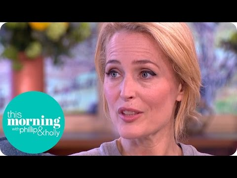 Gillian Anderson Reveals the Secret to Happiness | This Morning