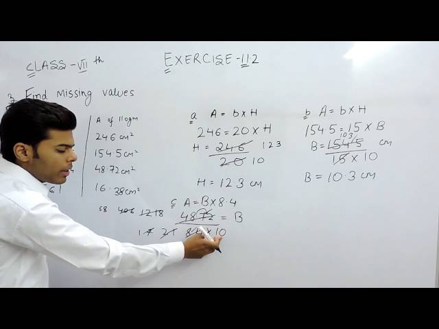 Exercise 11.2 - Question 3 NCERT Solutions for Class 7th Maths Perimeter and Area
