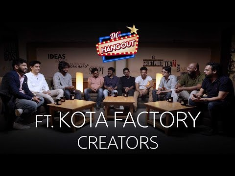 In Conversation With TVF Kota Factory Creators | Why Jeetu | Why Black & White | DC Hangout