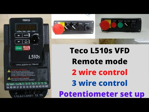 Teco L510s VFD,