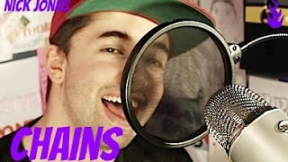 nick jonas chains cover brandon evans me singing