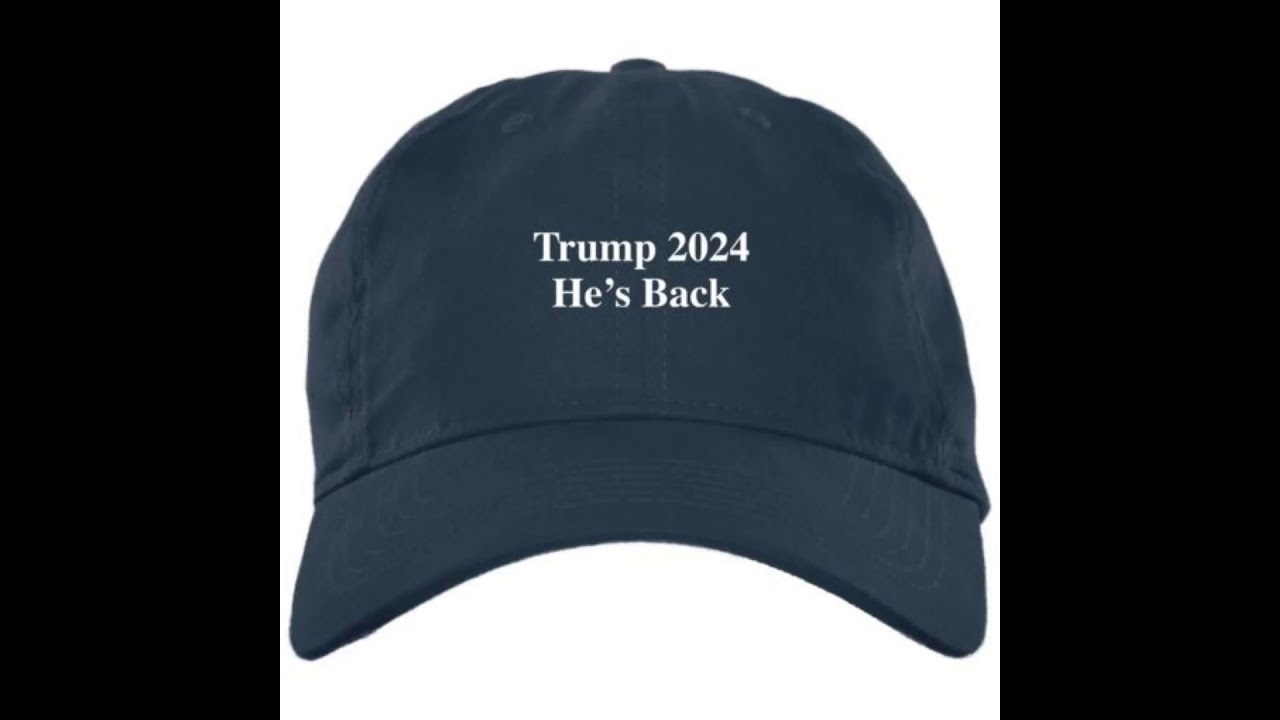 Trump 2024 He Is Back Hat Cap Youtube Most recent oldest shortest duration longest duration. trump 2024 he is back hat cap youtube
