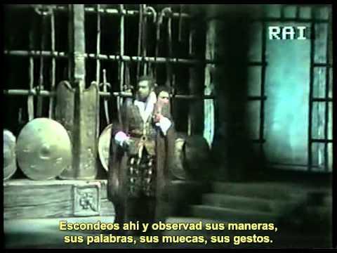 Verdi OTELLO Domingo,Freni,Cappuccilli-Kleiber 1976 Scala sub español(leonora43)