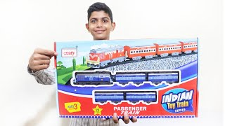 Centy Toys Indian Passenger toy train for kids – Chatpat toy tv – toy train set