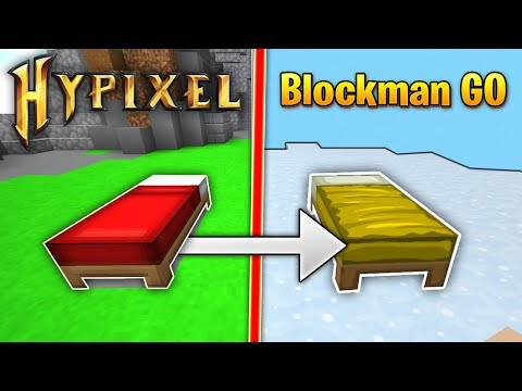 Playing The BIGGEST Minecraft Bedwars Spinoff! (Blockman GO)