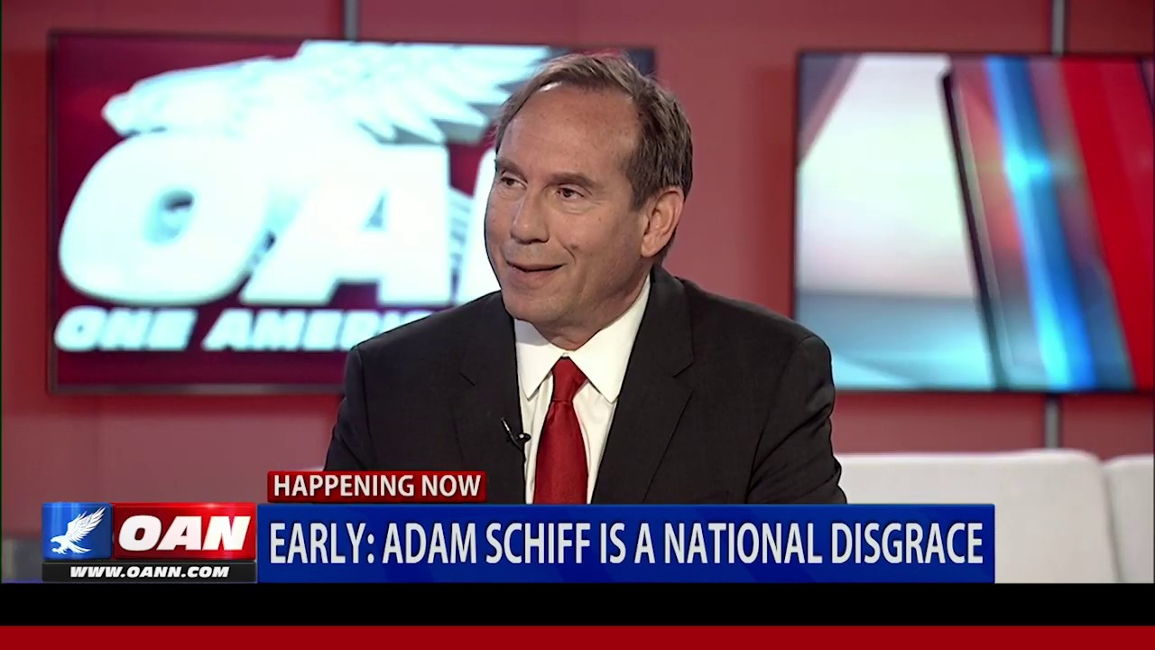 OAN Eric Early announces bid to take Adam Schiff's congressional seat in Calif.