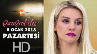 Esra Erol'da 8 Ocak 2018 Pazartesi - 521. bölüm