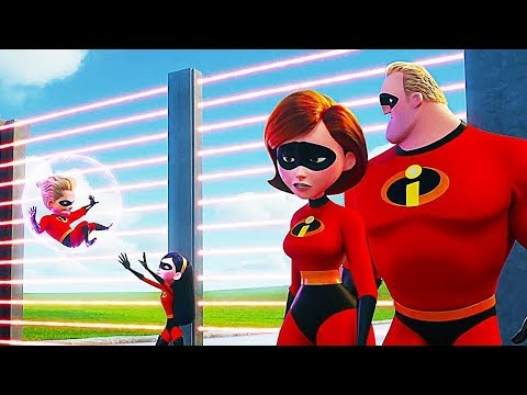 INCREDIBLES 2 - ALL The Clips & Trailers (Animation, 2018)