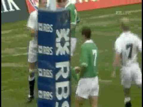 Ireland  Vs England Mary McAleese Vs Martin Johnson 2003