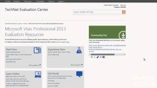 Introduction to Microsoft Visio 2013 Video Tutorial