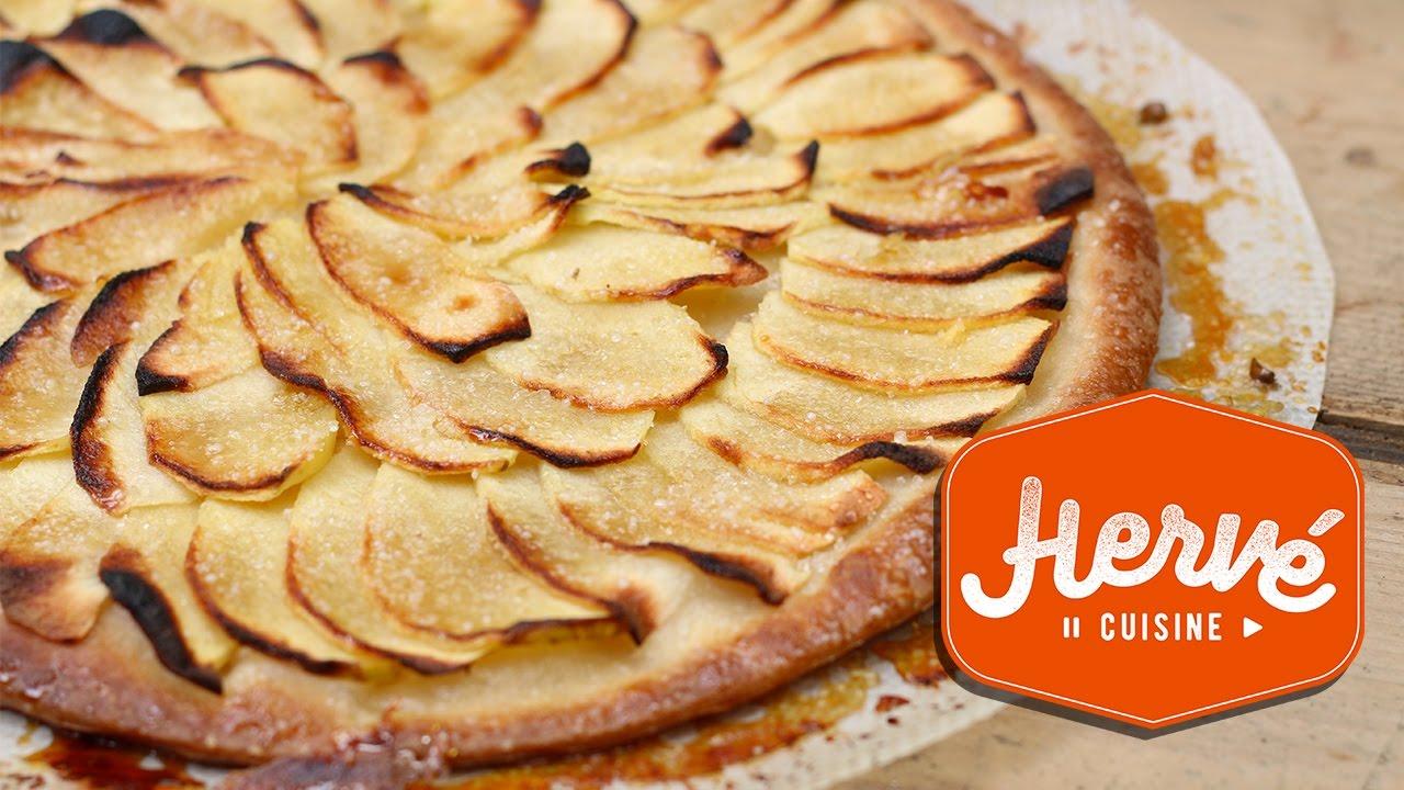 Tarte Aux Pommes 4 Ingredients En 30 Minutes Ca Dechire Youtube