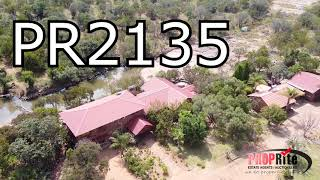 PR2135, This Stunning 452 HA Game Farm is situated in the Vaalwater area. Limpopo