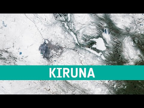 Earth from Space: Kiruna