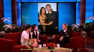 Nikki Reed e Mackenzie Foy no Ellen