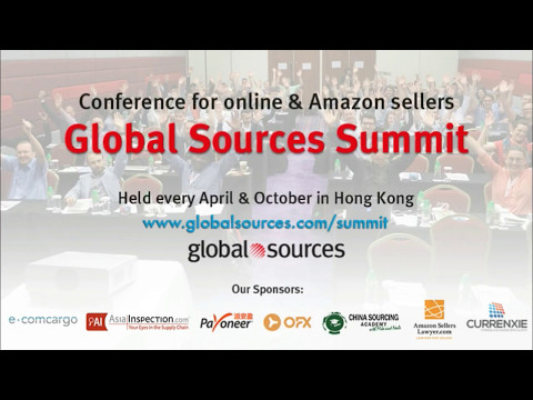 China Sourcing for Amazon FBA: Tips, Best Practices & Mistakes (Mike Bellamy) -Global Sources Summit
